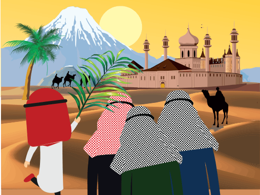 قصة أنس بن مالك :: مسابقة حكايات بالعربي