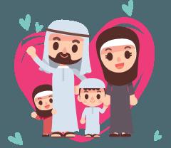 توطيد العلاقة بين (الآباء , الأمهات) و الأطفال في ظل جو عائلي سعيد
