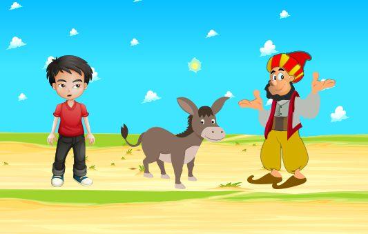 قصة جحا وكلام الناس قصص هادفة مضحكة للاطفال