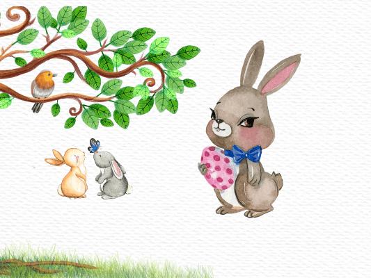 قصة الأرنب الذكي