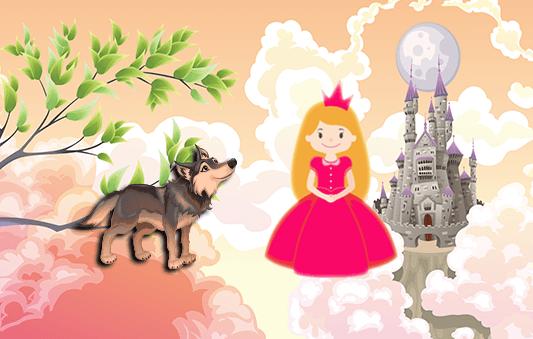 ذات الرداء الأحمر قصة خيالية محببة للاطفال