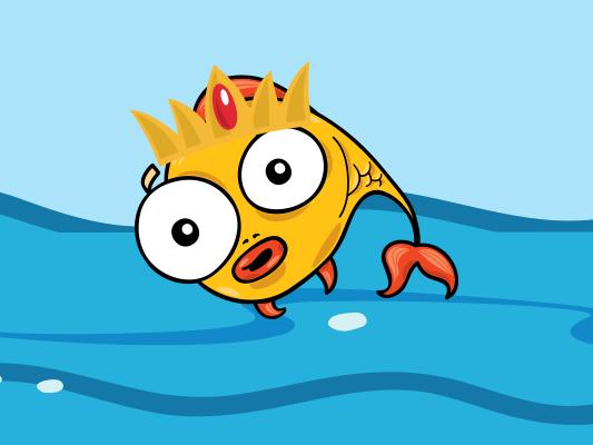 قصة السمكة الذهبية