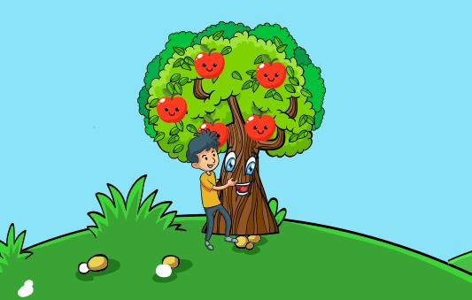 قصة عن بر الوالدين للاطفال قصة شجرة التفاح