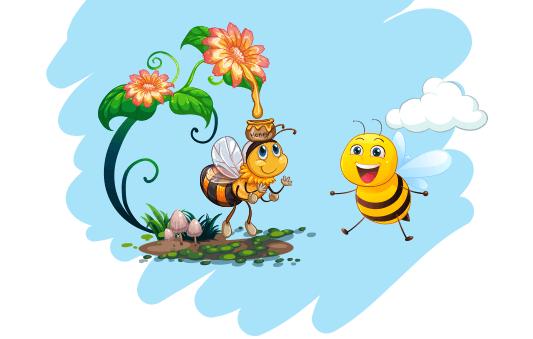 الزهور والعسل قصص قبل النوم للاطفال
