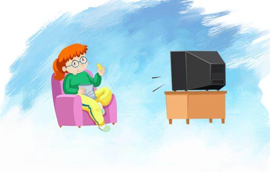 قصة سعاد والتلفاز قصص تربوية للاطفال