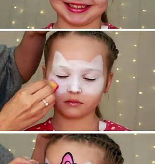 الرسم على الوجه للاطفال رسومات سهلة للحفلات طريقة تحضير الوان امنة بالمنزل بالعربي نتعلم