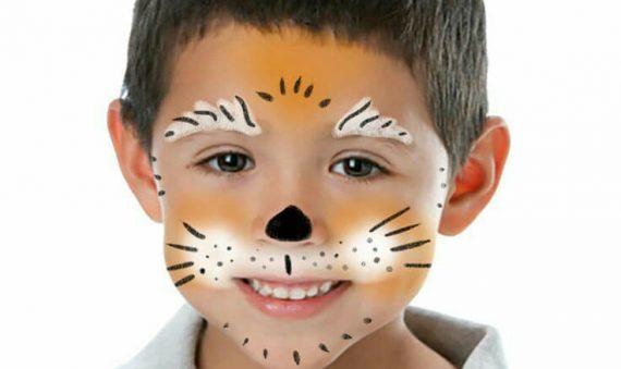 الرسم على الوجه لحفالات الأطفال