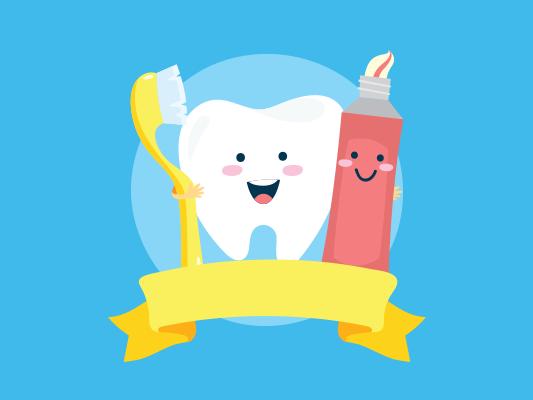 قصة ندى و فرشاة الأسنان