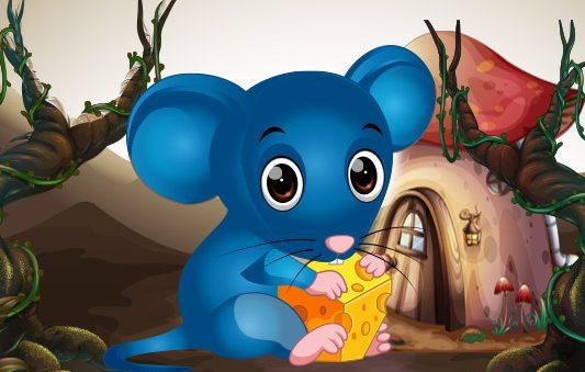 قصة الفأر الأزرق قصص مميزة للاطفال