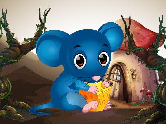 قصة الفأر الأزرق
