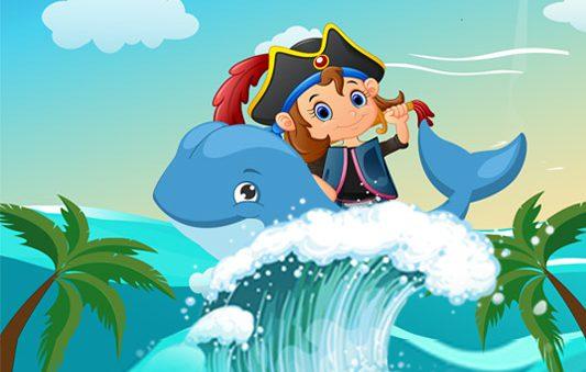 قصة السندباد في جزيرة الكنز قصة خيالية مميزة للاطفال
