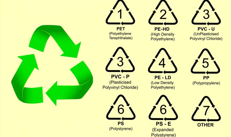 انواع البلاستيك