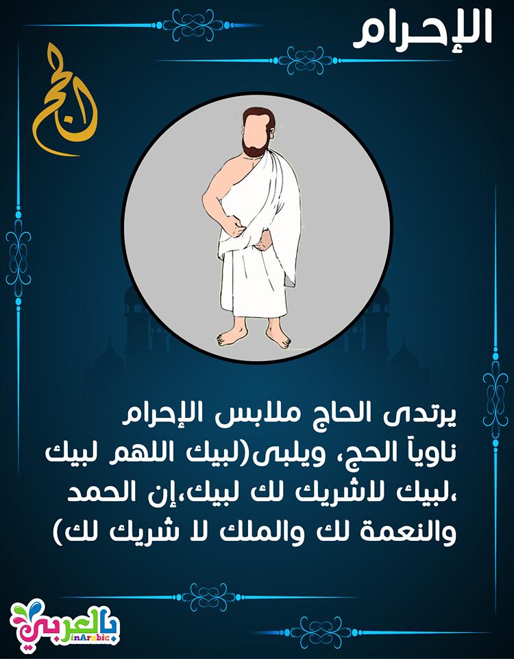 شرح مناسك الحج للاطفال بالصور الحج الركن الخامس من أركان الإسلام