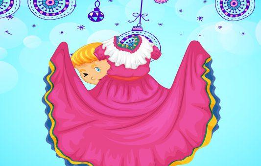 قصة قصيرة مصورة عن العيد للاطفال :: قصة فستان العيد بتطبيق حكايات بالعربي