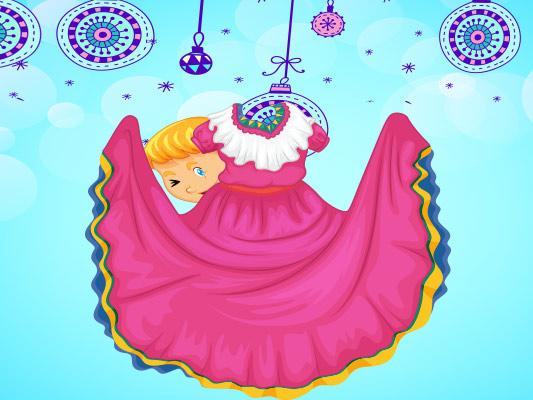 قصة قصيرة مصورة عن العيد للاطفال :: قصة فستان العيد