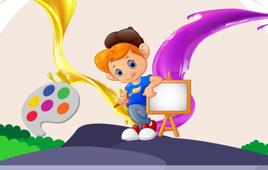 الالوان قصص تعليمية للاطفال
