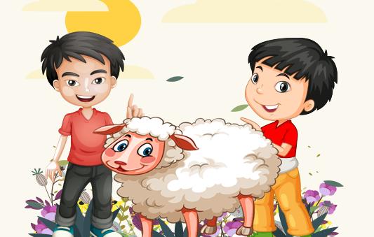 قصة خروف العيد من قصص العيد بتطبيق حكايات بالعربي
