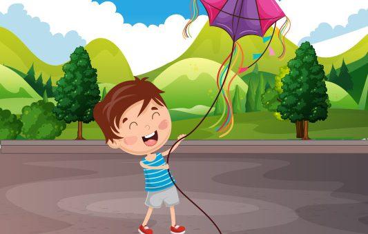 اقرأ لطفلك قصة طائرتي الورقية قصة قصيرة مسلية من قصص الصيف مصورة للاطفال