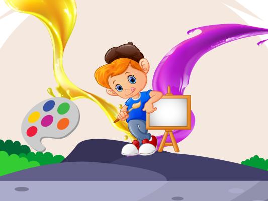 قصة أحمد و الألوان قصص تعليمية للاطفال