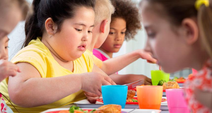 علاج سمنة الاطفال