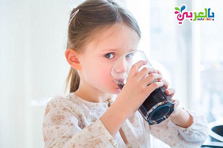 المشروبات الغازية تضر بالطفل