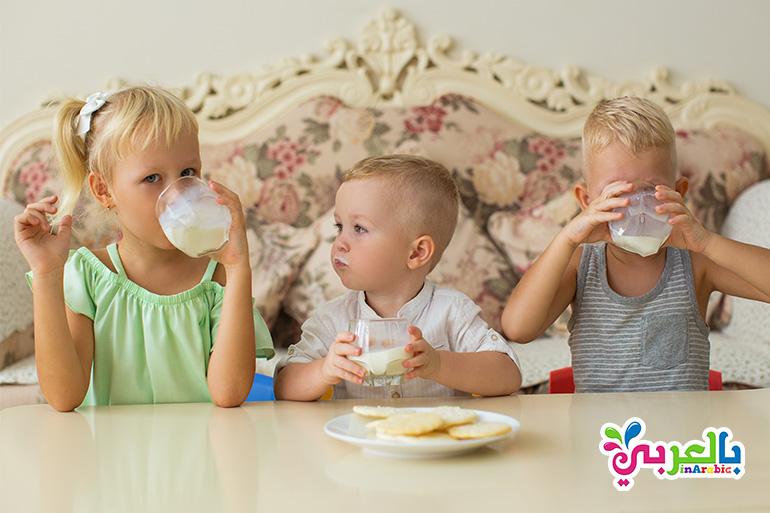 فوائد اللبن للاطفال