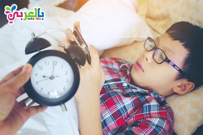 تاثير الاجهزة الالكترونية على النوم