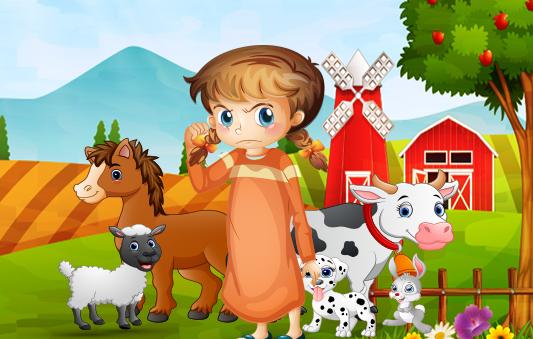 قصة سمر و المزرعة قصص تربوية للاطفال