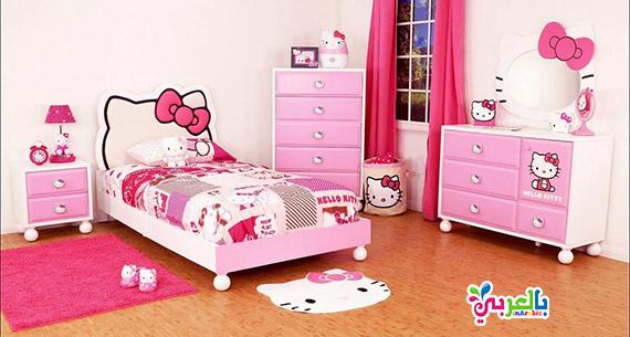 غرف نوم كيتي للاطفال