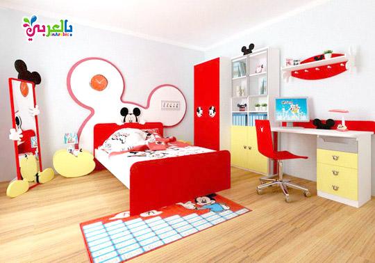 غرف نوم للاطفال ميكي ماوس