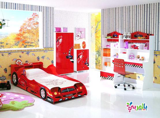 غرفة نوم اطفال برق بنزين