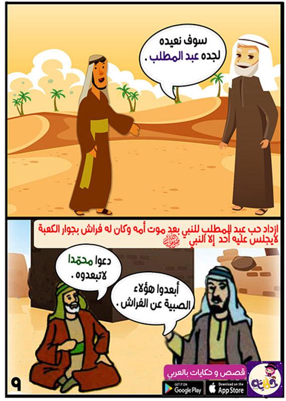 جد النبي عبد المطلب