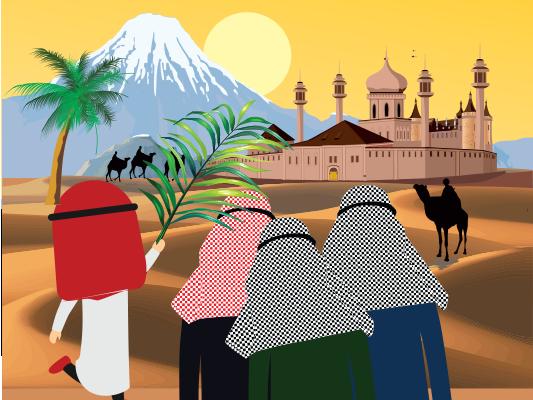 قصة أنس بن مالك :: قصص أشبال حول الرسول