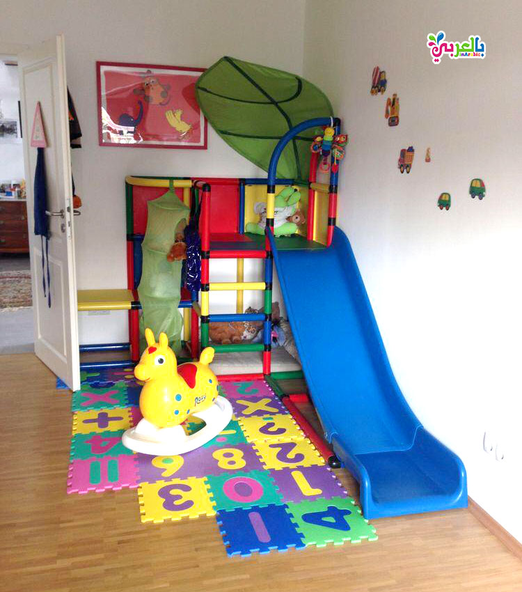 تصميم حجرات لعب اطفال - افكار غرف العاب للاطفال جديدة