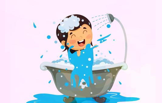 قصة عن النظافة للاطفال :: قصة نونا والصابونة