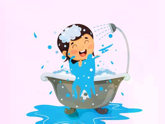 نونا والصابونة :: قصة مصورة عن النظافة الشخصية للاطفال