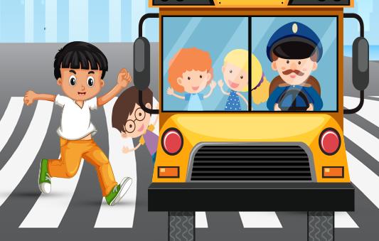 قصة يوسف يلحق الباص قصص سلوكية للاطفال هادفة بتطبيق قصص وحكايات بالعربي