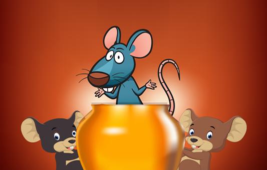 قصة الفئران الثلاثة بالصور