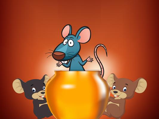 قصة الفئران الثلاثة بالصور :: قصة مصورة للاطفال عن الأنانية