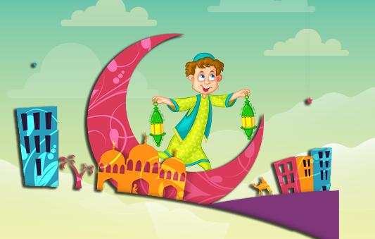 قصة مرحبا شهر الصيام :: قصص الصيام بالصور للأطفال