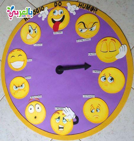 نشاط التعبير عن المشاعر للاطفال