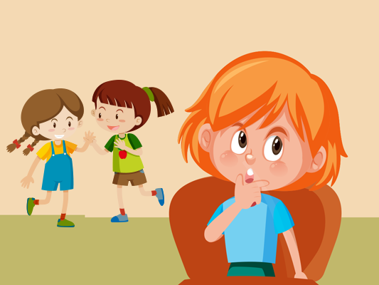 قصة لا أحب اسمي :: قصة عن التنمر اللفظي للاطفال