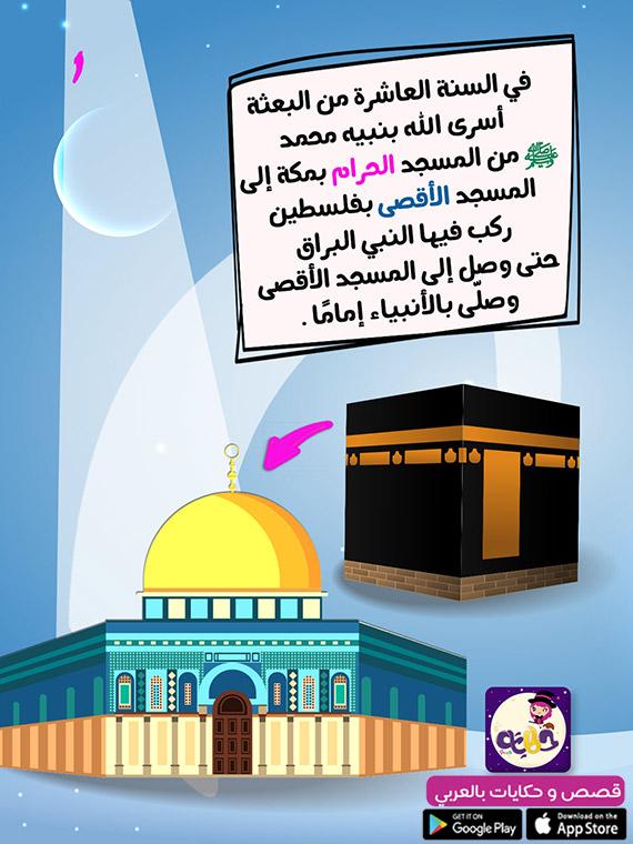 مسار الاسراء من مكة للمسجد الأقصى