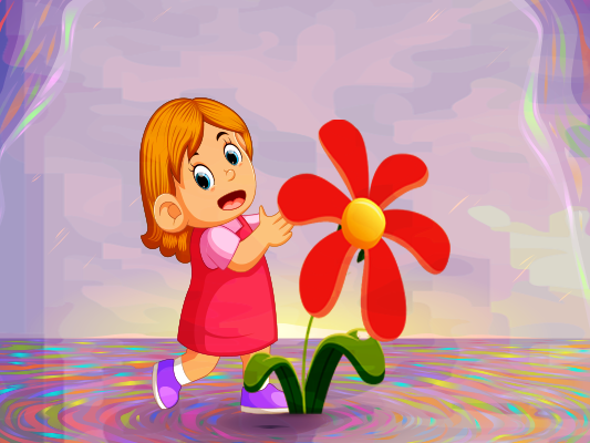 قصة عن فصل الربيع للاطفال بالصور :: قصة ندى والوردة الجميلة