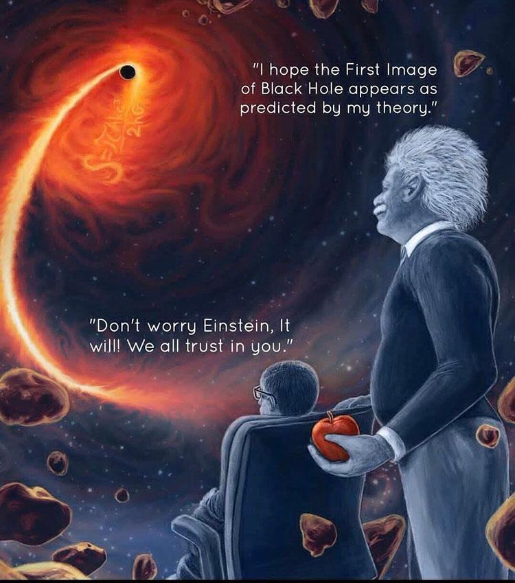 الثقب الأسود black hole