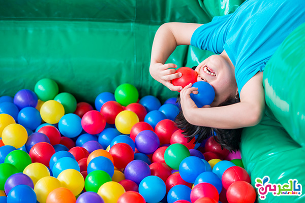 فقرات حفلات عيد الطفولة - لعبة بيت الكور