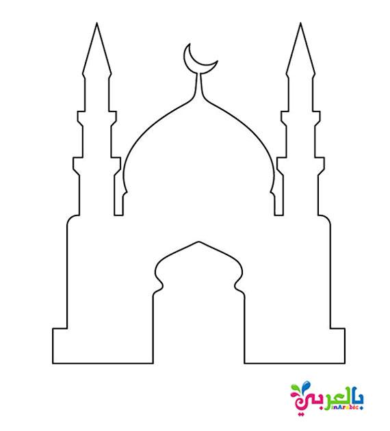 باترون جاهز للطباعة صنع مسجد بالفوم