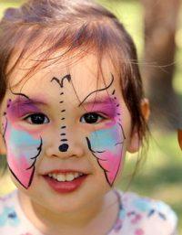 طريقة عمل الوان للرسم على وجوه الاطفال بطريقة آمنه في منزلك