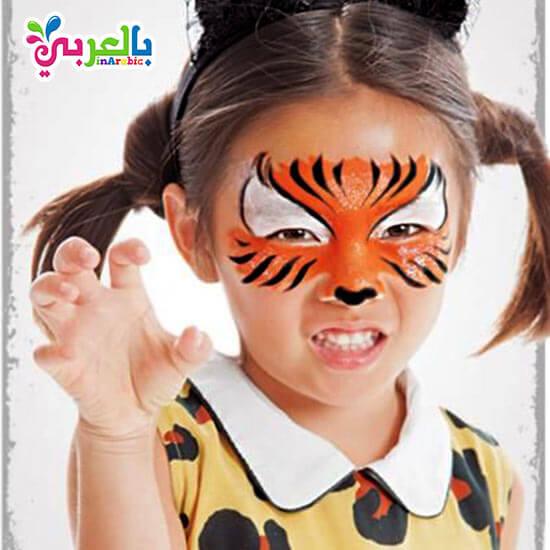 رسومات على وجوه الاطفال سهلة للبنات افكار حفلات للاطفال