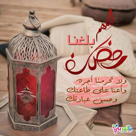 اللهم لاتحرمنا أجر الشهر الكريم وبلغنا رمضان في طاعة